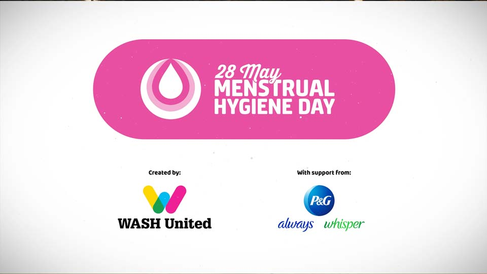 Menstrual Hygiene Day Video for WashUnited